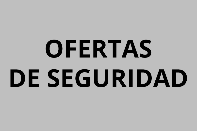 OFERTES DE SEGURETAT
